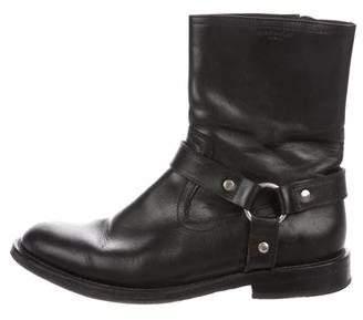 Saint Laurent 2013 Leather Harness Boots