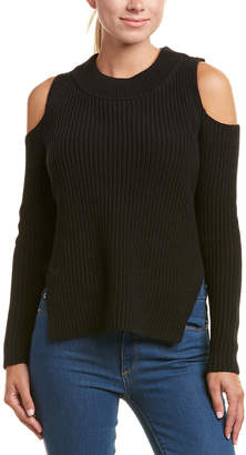 French Connection Cold-Shoulder Mozart Sweater