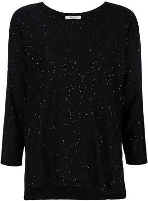 Blumarine splatter style knit top