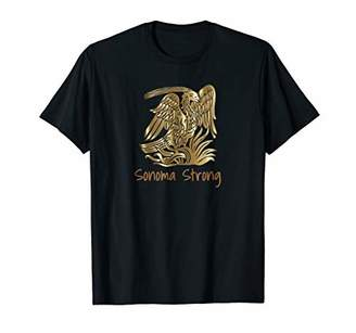 Sonoma Strong Phoenix Rising from the Fire California Tshirt