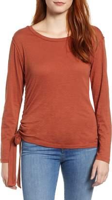 Caslon Side Shirred Top