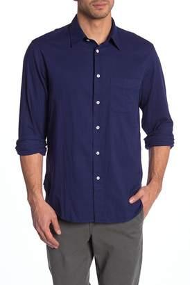 Rag & Bone Standard Issue Solid Classic Fit Shirt