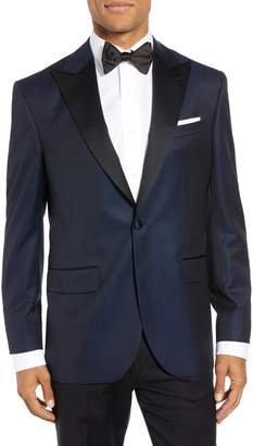David Donahue Russell Classic Fit Wool Dinner Jacket