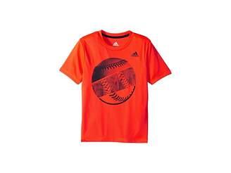 adidas Kids Hacked Sport Ball Tee (Toddler/Little Kids)