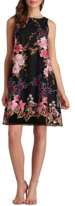 Women's Eci Embroidered Shift Dress $88 thestylecure.com