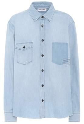 Saint Laurent Denim button-down shirt