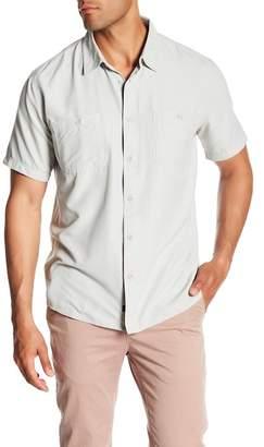 Quiksilver Waterman Collection Wakeslide Woven Short Sleeve Regular Fit Shirt