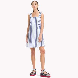 Tommy Hilfiger Bow Back Stripe Dress