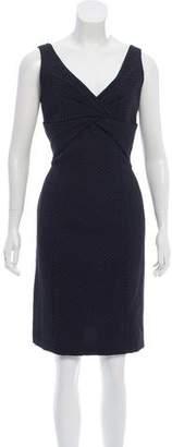 Giorgio Armani Sleeveless Knee-Length Dress