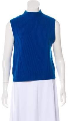 Diane von Furstenberg Ediva Wool & Cashmere-Blend Top w/ Tags