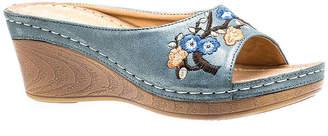 GC SHOES GC Shoes Bonita Womens Wedge Sandals