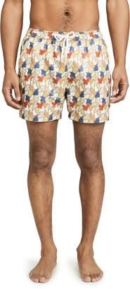 Far Afield Printed Swim Shorts