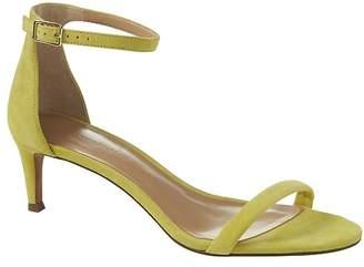 Banana Republic Bare Kitten Heel Sandal