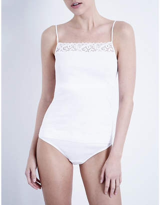 Hanro Ladies White Moments Camisole