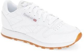 Women's Reebok 'Classic' Sneaker $74.95 thestylecure.com