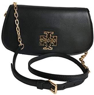 Tory Burch Leather Britten Clutch Chain Crossbody - 8095