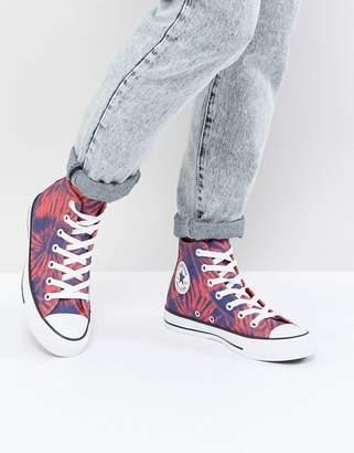 Converse (コンバース) - Converse Chuck Taylor All Star Hi Sneakers In Tie Dye