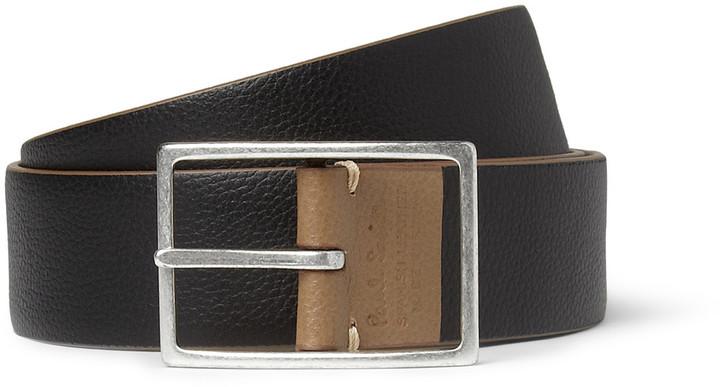 Paul Smith Reversible Full-Grain Leather Belt
