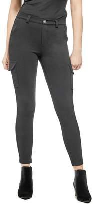 GUESS Factory Women's Lolara Cargo Ponte Pants