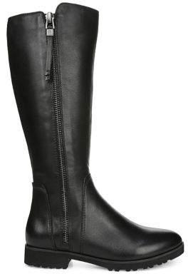 Naturalizer Premium Gael Wide Calf Mid-Calf Leather Boots