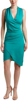 Nicole Miller Collection Silk-Trim Sheath Dress