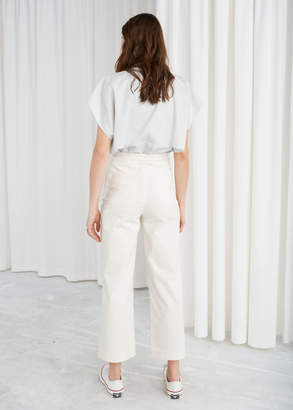 Straight Cord Trousers