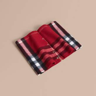Burberry Exploded Check Cashmere Snood
