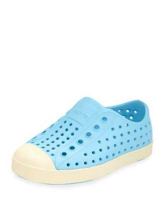 Native Jefferson Waterproof Low-Top Shoe, Surfer Blue, Youth $37 thestylecure.com