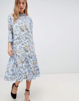 Jdy High Neck Floral Dress