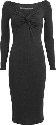 Enza Costa Twist Front Midi Dress