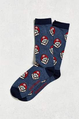Urban Outfitters Super Mario Print Sock