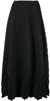 Pierantonio Gaspari Pierantoniogaspari knitted midi full skirt
