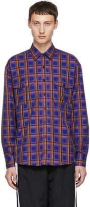 Burberry Blue Check Chester Shirt