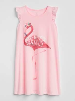 Gap Flamingo PJ Dress