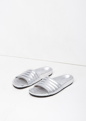 Marc Jacobs Silver Slide $490 thestylecure.com