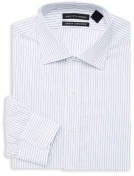 Saks Fifth Avenue Classic-Fit Wide Stripe Dress Shirt