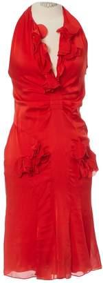 Tom Ford Red Silk Dresses