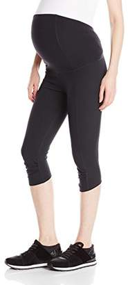 Ingrid & Isabel Women's Crossover Panel Active Maternity Pant - Knee