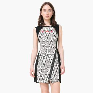 Desigual Graphic Print Sleeveless Dress