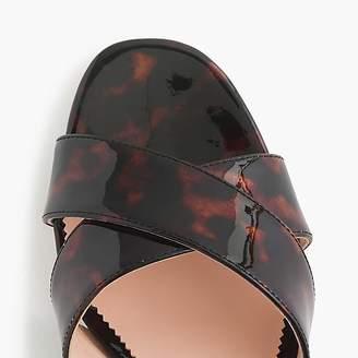 J.Crew Tortoise Penny sandals