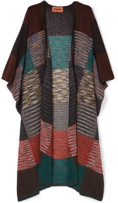 Missoni Patchwork Crochet-knit Cardigan - Lilac