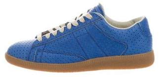 Maison Margiela Perforated Low-Top Sneakers w/ Tags