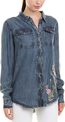 Tolani Embroidered Harlow Top