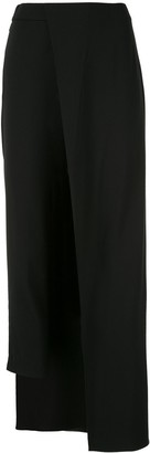 Hellessy fitted trousers with overskirt