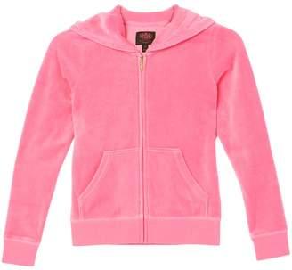 Juicy Couture Velour Scottie Crest Robertson Jacket for Girls