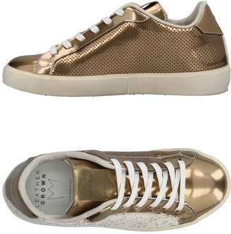 Leather Crown Low-tops & sneakers - Item 11384931