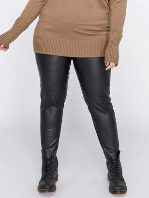 6cdc6485fdc Plus Size Leather Leggings - ShopStyle Canada