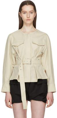 Isabel Marant Beige Hacene Jacket