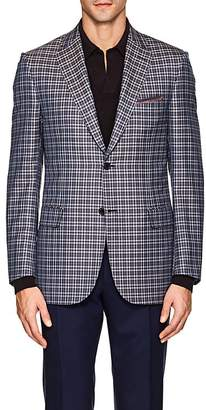 Brioni Men's Ravello Wool-Silk Two-Button Sportcoat