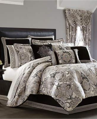 J Queen New York J. Queen 4-Pc. New York Giuliana Queen 4-Pc. Comforter Set Bedding